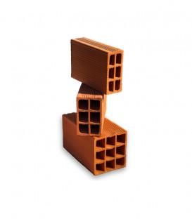 Ladrillos cerámicos huecos Palmar de 8x18x33, 12x18x33 y 18x18x33