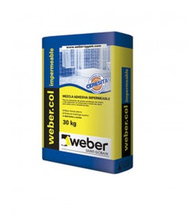 Weber col impermeable con ceresita