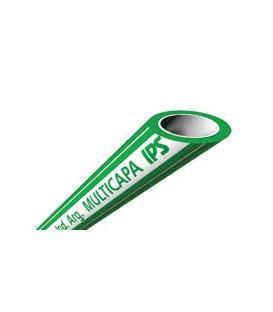 Tubo Multicapa Fusión PN25 S2,5 SDR6