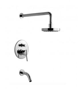 0106/39-Juego monocomando para bañera y ducha Libby